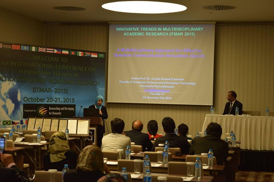 Dr. Zuriati Ahmad ITMAR 15